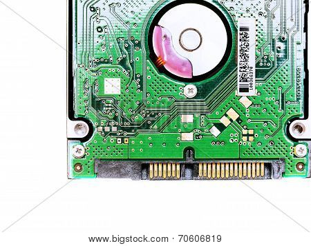 Macro View Of Hard Drive
