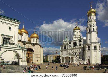 Ivan The Great Bell Tower In The Moscow Kremlin