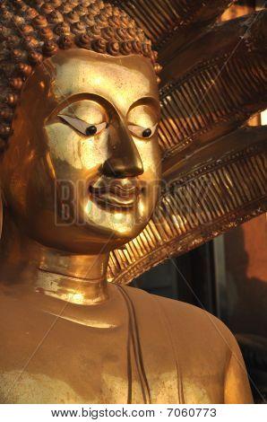 Buddha Face Brass Sine