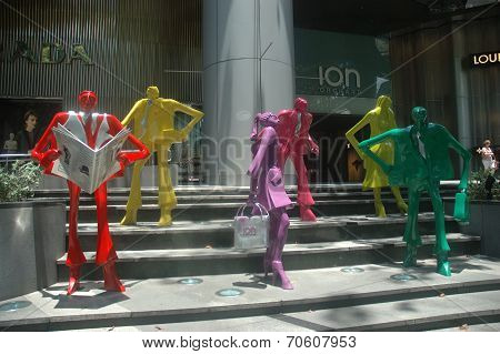 Ion Orchard Statue