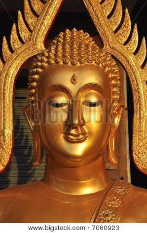 Buddha Head Brass Aura