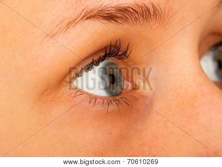 Wearing Contact Lenses
