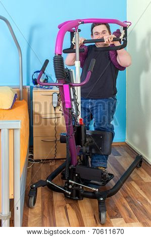 Spastic Male Infantile Cerebral Palsy Patient