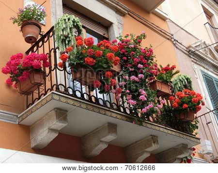 Beautiful balcony