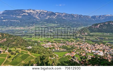 Overview Of Adige Valley