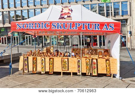 Souvenir Shop In Stavanger, Norway
