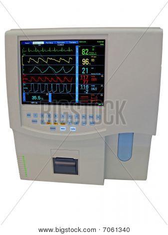 Color Doppler Cardiovascular Digital Display Isolated