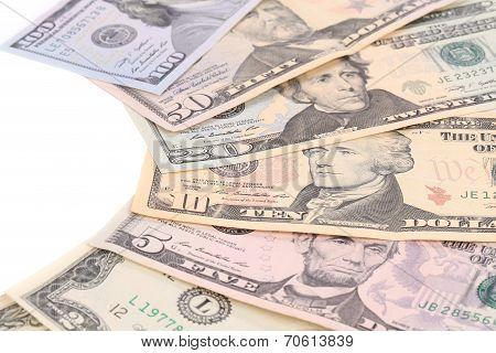 Heap of dollars.