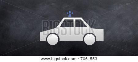 911 - Police Car Crusing