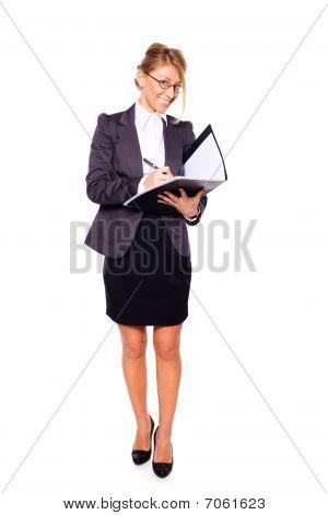 Escritura de empresaria