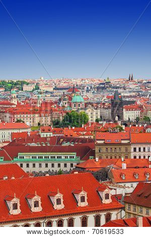 View on Mala Strana and Stare Mesto, Prague