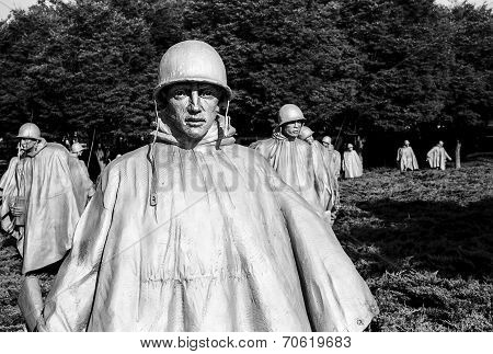 Korean War Memorial Platoon