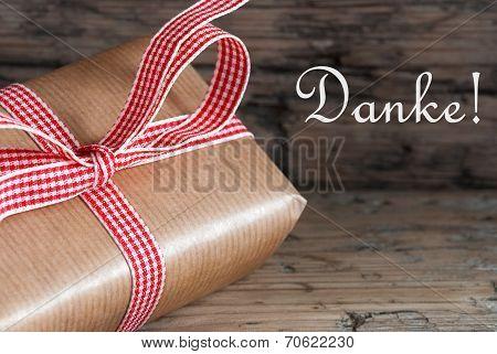 Gift With Danke
