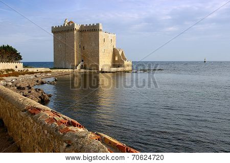French Riviera, The Lérins Islands : Fortified Monastery Of Abbey Saint-honorat