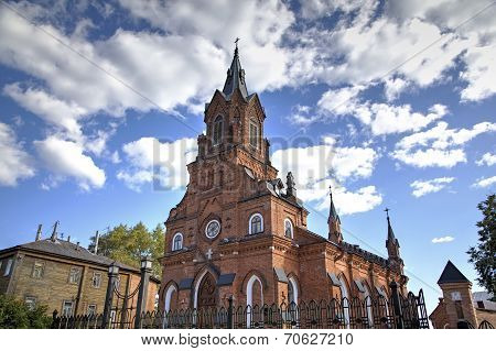Church of the Holy Rosary of the Blessed Virgin Mary. Vladimir, Golden ring of Russia.