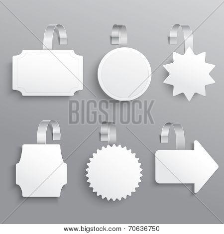 White wobbler set