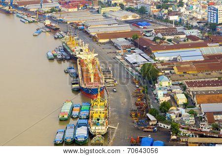 Sai Gon port