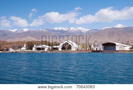 Architectural Complex On Bank Of Issyk-kul Lake