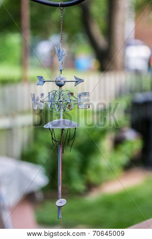 Hanging Weather Vane