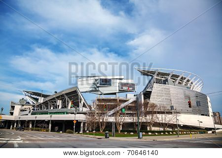 Paul Brown Stadium In Cincinnati, Ohio