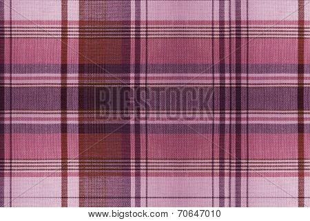Tartan Red Pattern - Plaid Clothing Table