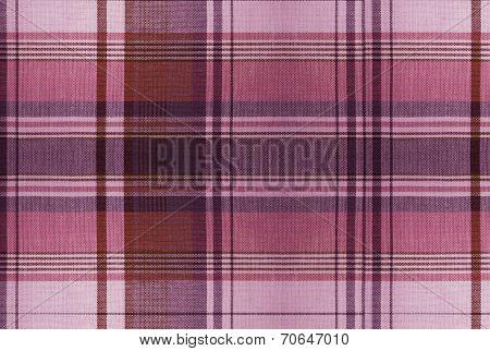 Tartan Red Pattern - Plaid Clothing Table