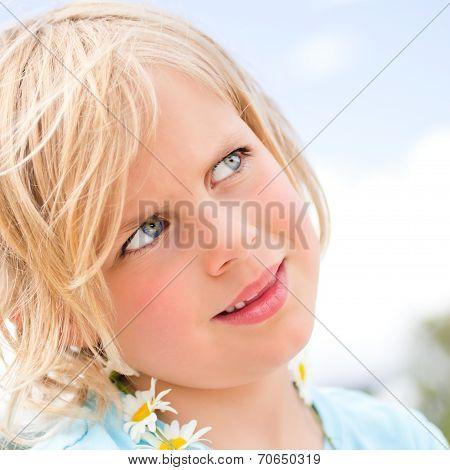 Pretty Little Blond Girl