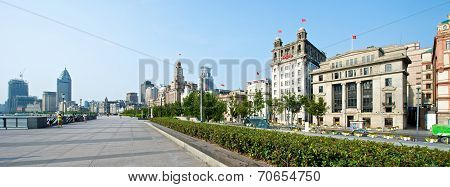 Shanghai Bund In The Morning