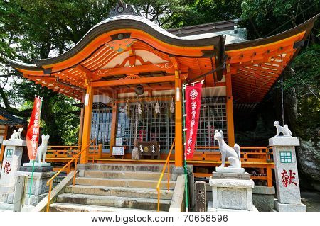 Wakamiya Inari Shrine in Nagasaki, Japan