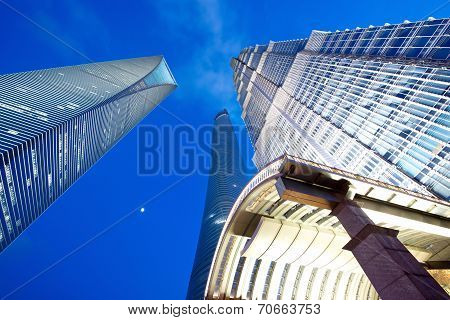 Shanghai 3 Tallest Buildings