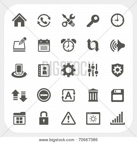 Setting Icons Set