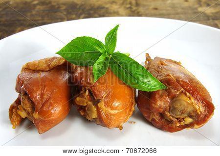 Smoked  Chicken Knuckle