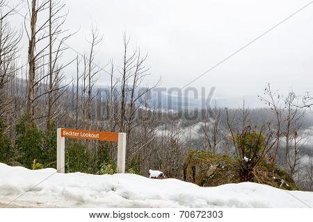 Beckter Lookout at Mt Margaret
