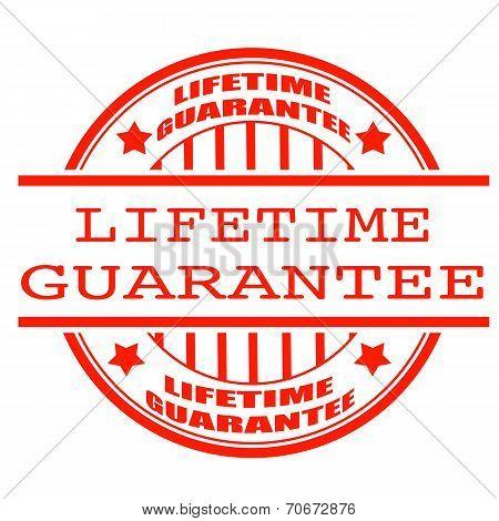Lifetime Guarantee Stamp