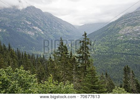 Mountains In Southeastern Alaska