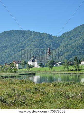 Sankt Ulrich,Lake Pillersee,Tirol,Austria