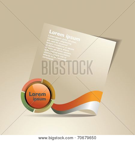 modern design template. flyer, magazine cover & poster template. designe bubbles