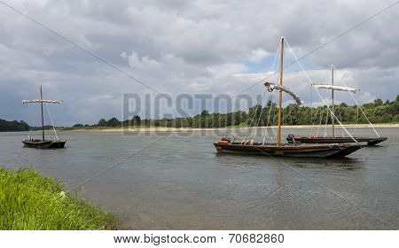 Traditional Boats on Loire