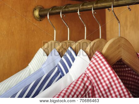 Shirts And Hanger