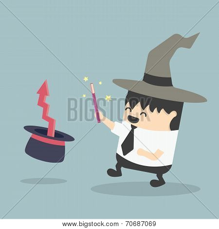 Magic Businessman
