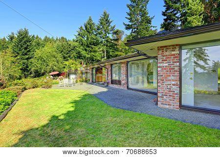 Beautiful Brick House With Walkout Basement And Landscape