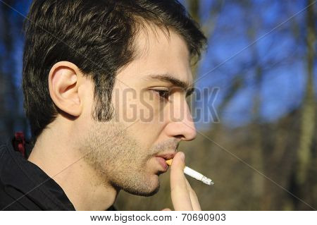 Smoker Portrait