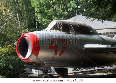 The Vintage Jet Fighter Aircraft