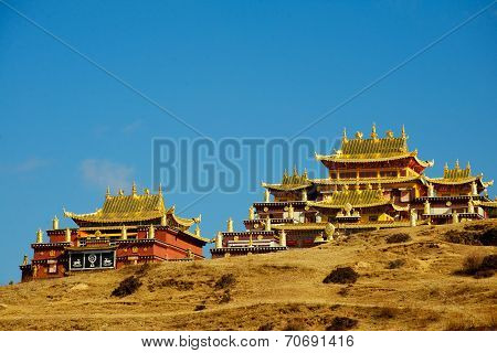 Monastery in Shangrila, Yunnan, China