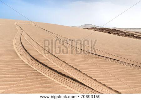Dunes Of Morro D'areia, Boavista, Kapverden