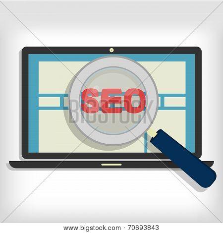 Seo Optimization In Laptop