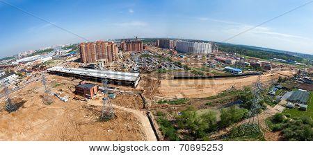 Highway Construction Panorama