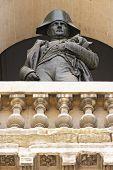 foto of bonaparte  - Statue of Napoleon Bonaparte - JPG
