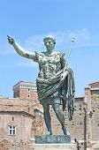 stock photo of emperor  - Photo of the emperor Augustus statue in rome - JPG