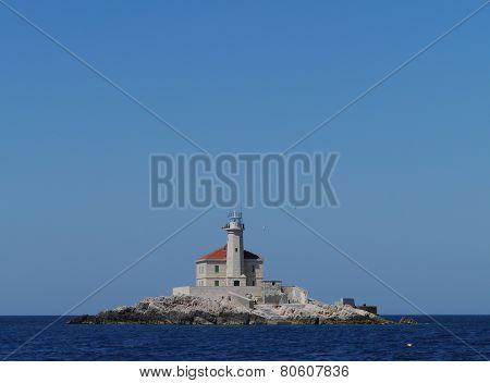 The Croatian Mulo lighthouse